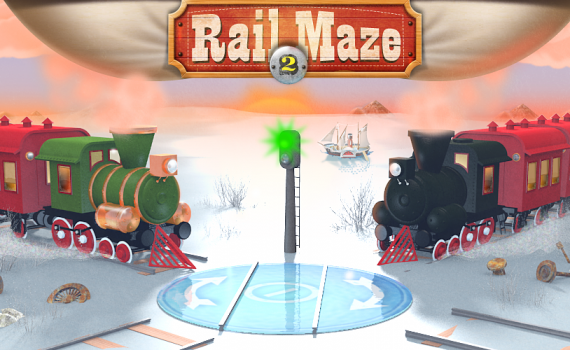 Rail Maze 2 featured