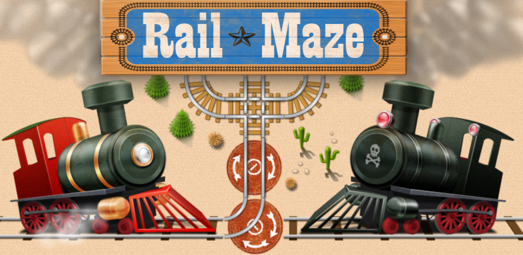 Rail Maze : Train Puzzler featured
