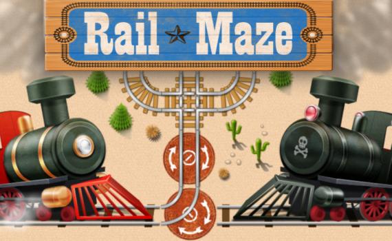 Rail Maze : Train Puzzler featured