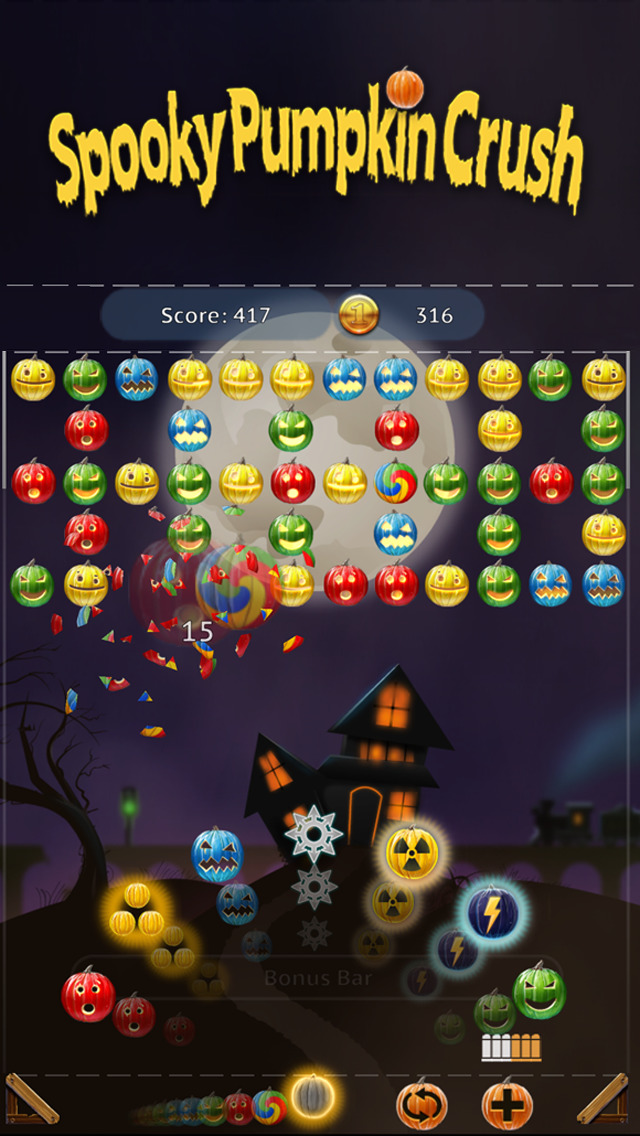 Spooky House : Pumpkin Crush i